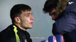 Las lágrimas de impotencia de este futbolista que están dando la vuelta a