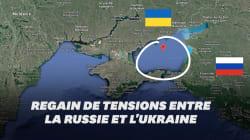 Qu'est-ce que le détroit de Kertch, au cœur des tensions entre la Russie et