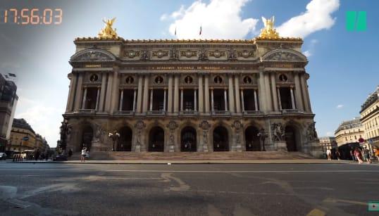 Finale France-Croatie: Les 90 minutes où les rues de Paris se sont
