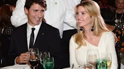 Trudeau Put In Awkward Spot At Gala As Ivanka Trump Looks