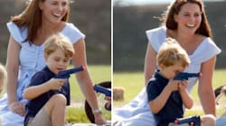 People Are Angry Kate Middleton Let Prince George Play With A Toy