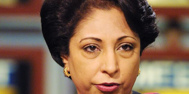 File photo of Maleeha Lodhi, Pakistan's Ambassador to the UN.