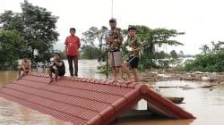 Au Laos, l'effondrement d'un barrage fait plusieurs morts et des centaines de