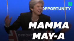 La danse de Theresa May sur