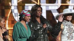 Apparition surprise et standing ovation pour Michelle Obama aux