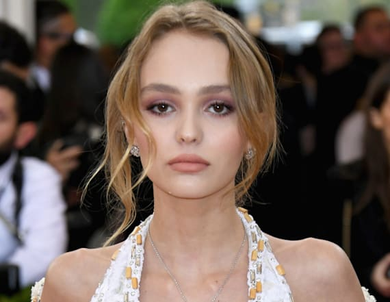 Lily-Rose Depp goes topless in magazine shoot