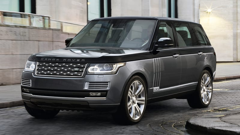 Jaguar Land Rover Special Vehicle Operations shows its softer side