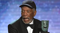 Morgan Freeman n'a pas raté ce détail «genré» sur la statuette des SAG