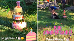 Pour son 1er anniversaire, le bébé panda du zoo de Beauval a eu le droit à un gâteau un peu