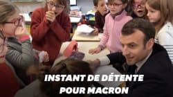 Dans son tunnel de déboires, Macron s'offre ce joli moment avec des