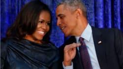 Vean los retratos oficiales de Barack y Michelle