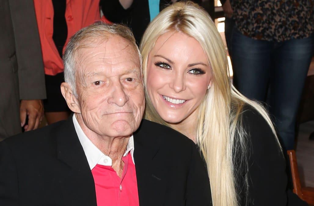 Hugh Hefner's widow breaks silence after Playboy founder's ...