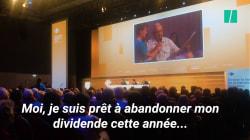 Face au PDG de Carrefour, cet actionnaire a proposé d'abandonner son dividende pour limiter les pertes