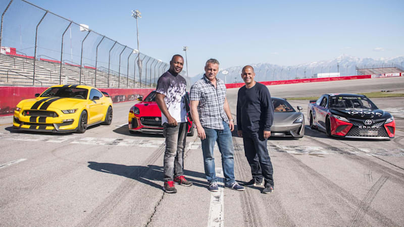 Top Gear Season 25 Episode 1 Review A Trio With V8 Muscle Autoblog