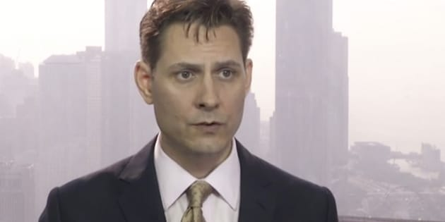 Une image de Michael Kovrig tirée d'une vidéo diffusée le 28 mars 2018.