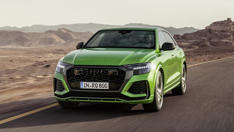 Audi RS Q8 s 600 horsepower bridges the trail and the track