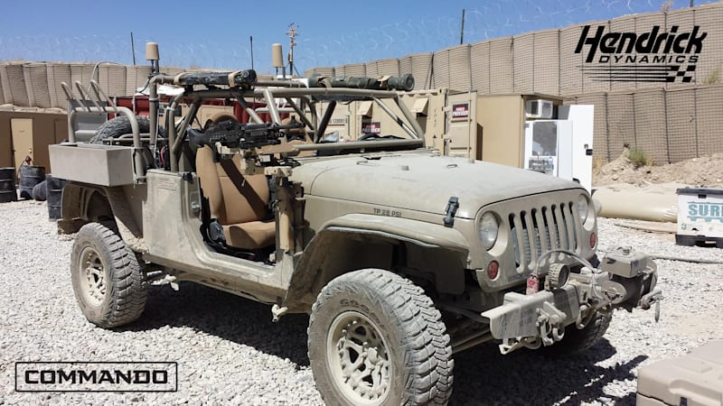 Jeep Wrangler Military >> Hendrick Wants To Put Jeep Wranglers Back On The Battlefield Autoblog