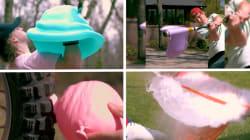 Ces images de ballons de baudruche percés sont