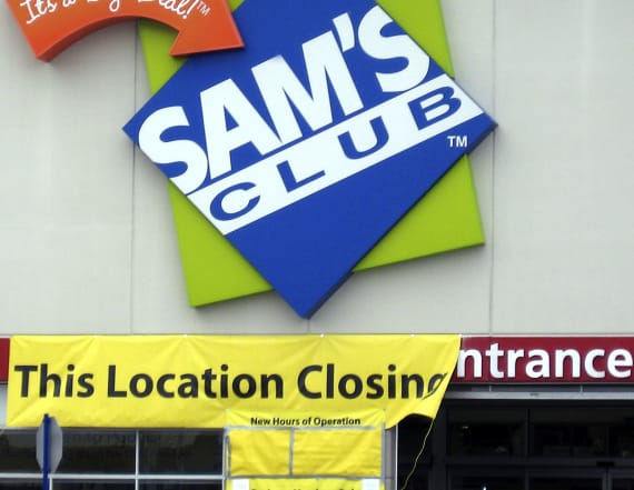 All 63 Sam's Club stores that are closing