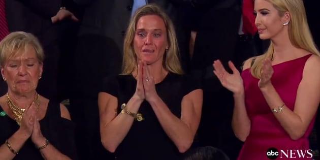Cet hommage de Trump a ému et fait lever tout le Congrès pendant plusieurs minutes