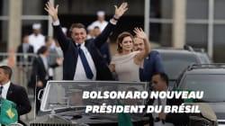 Les images de l'investiture de Bolsonaro à