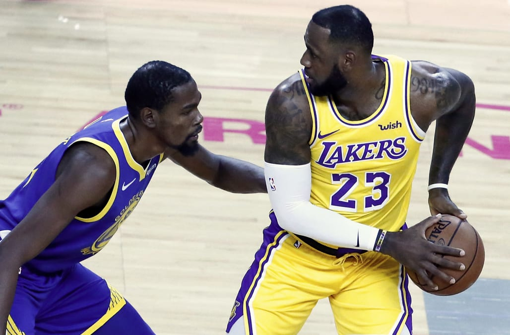 7fa2452d504 Kevin Durant simultaneously seems to detest the spotlight and covet the  attention paid to LeBron James, a paradox that all but assures us they will  never ...