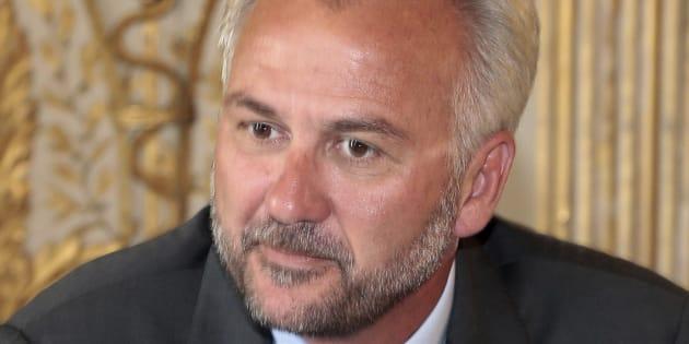 Ferdinand Melin-Soucramanien lors d'une réunion de la Commission sur la moralisation de la vie politique le 25 juillet 2012 à Paris.