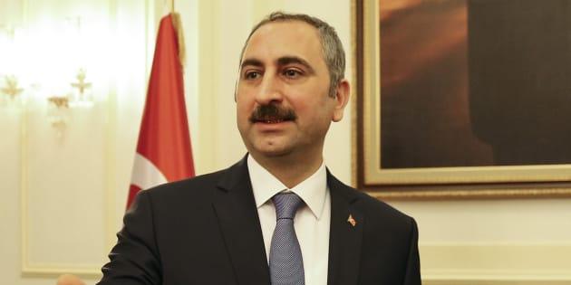 Le ministre de la Turquie, Abdulhamit Gul.
