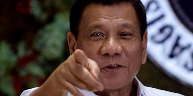 Philippine President Rodrigo Duterte claimed he once hurled a man suspected of rape and murder out of a helicopter.