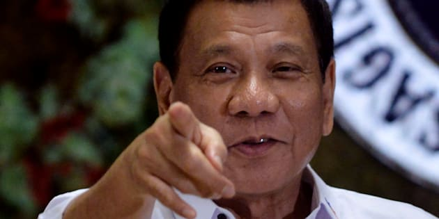 Philippine President Rodrigo Duterte has openly spoken about people he's killed.