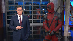 Ryan Reynolds Crashes Colbert As Deadpool To Crack X-Rated Trump