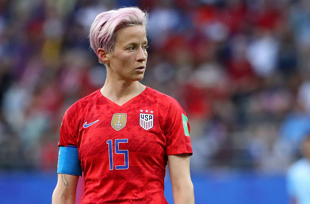 half off a29a7 eb407 Why USWNT star Megan Rapinoe doesn't sing the national ...