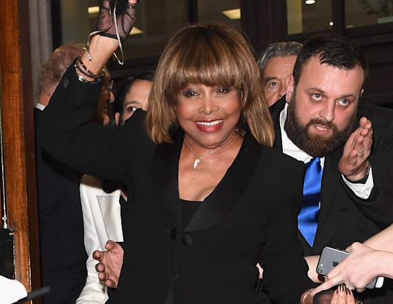 Tina Turner hits her first red carpet in 5 years
