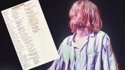 La liste des 50 albums préférés de Kurt Cobain, qui aurait eu 50 ans ce