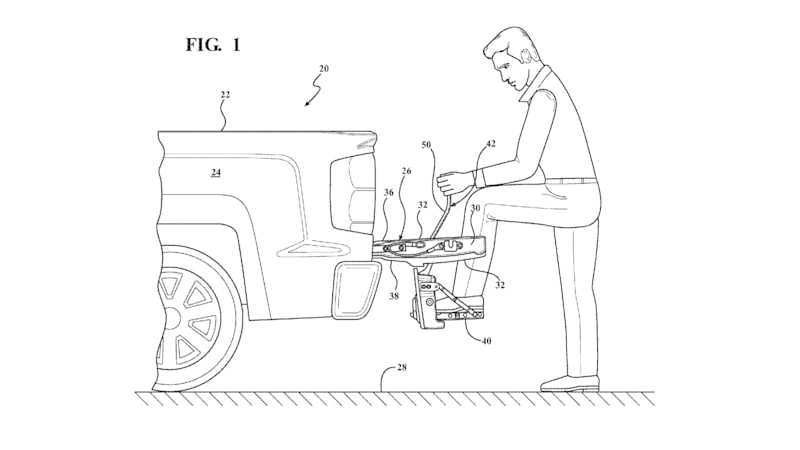 Next Chevy Silverado Could Get This Built In Tailgate Step
