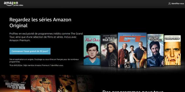 Amazon lance son service de vidéos Prime en France.