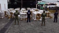 La Marina decomisa 18,000 kilos de precursor químico en