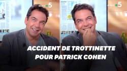 Patrick Cohen a eu un accident de