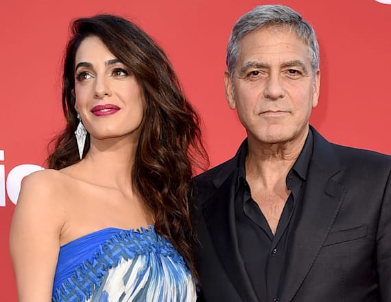 George and Amal Clooney make gracious move on flight