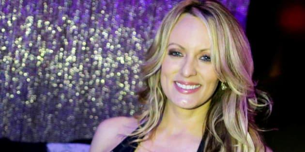 Imagen de archivo de la actriz porno Stormy Daniels.
