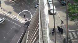 Attaque de Liège: «Fous-moi le camp connard», les images surréalistes d'une femme interpellant l'assaillant depuis son