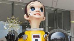 La statue polémique d'un enfant en combinaison retirée à