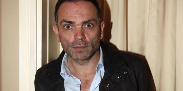 """Yann Moix, ici en 2013 à Paris, a confié dans Marie-Claire être """"incapable d'aimer une femme de 50 ans""""."""