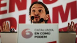 La dura respuesta de Pablo Iglesias al tipo que le amenaza a él y a Puigdemont subido en un