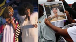 Avant les funérailles d'Aretha Franklin, des milliers de personnes ont assisté à un concert