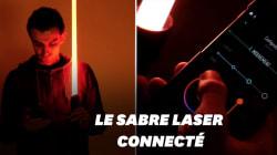 Au CES 2019, ce sabre laser français pousse le réalisme à