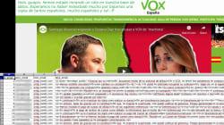 Anonymous piratea la web de Vox y logra datos de unos 30.000