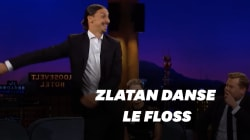 Zlatan danse le floss à la
