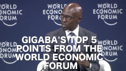 5 Important Things Malusi Gigaba Said At The World Economic