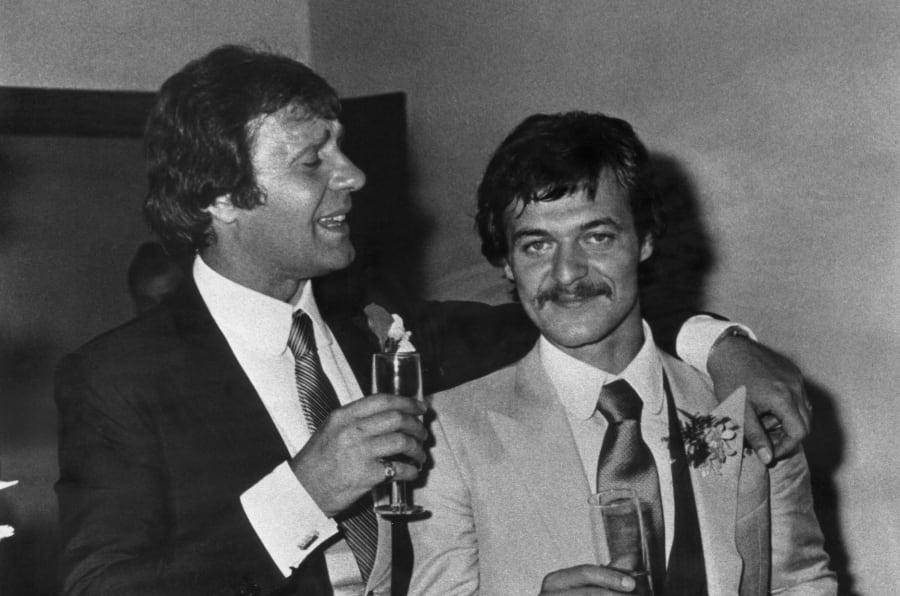 Francis Turatello testimone di nozze di Renato Vallanzasca, 1979, Archivio privato
